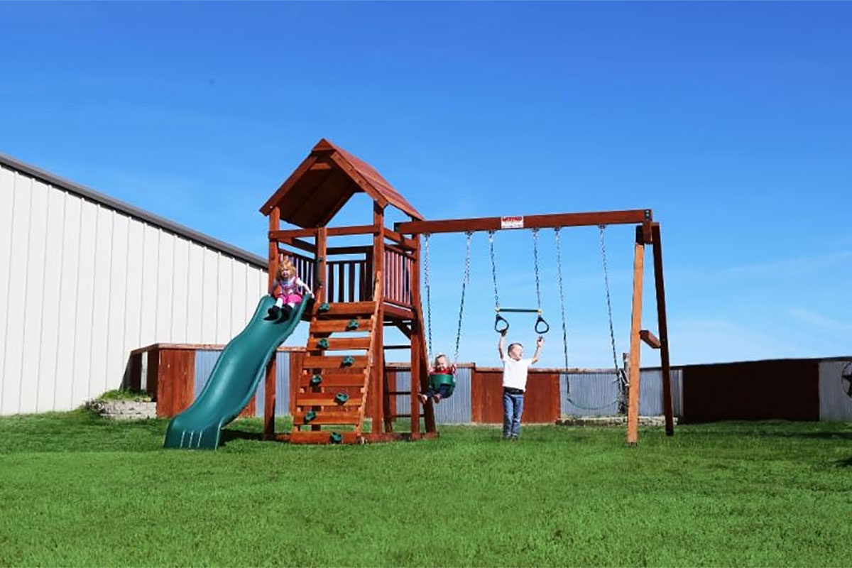 Cowtown Series Wrangler - Backyard Fun Factory Play Sets & Swing Sets California |Swings-N-Things